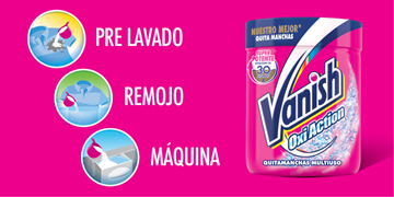 Vanish Oxi Action Multiuso Polvo