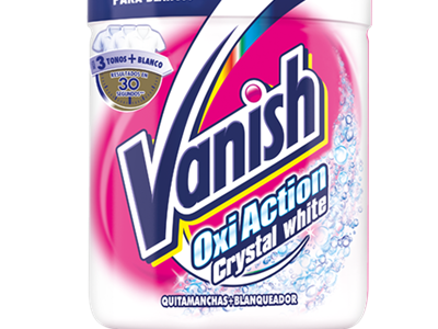 Vanish Oxi Action Crystal White Polvo